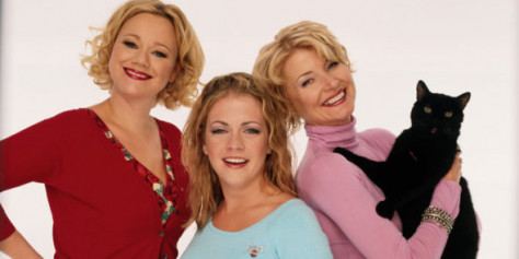Sabrina the Teenage Witch, toen en nu></a><a href=